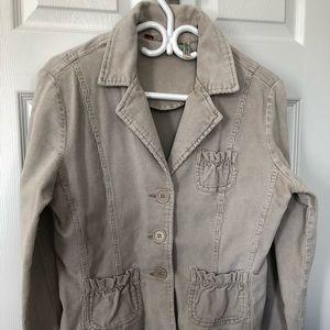 Bill Blass Jeanswear Cream Jacket